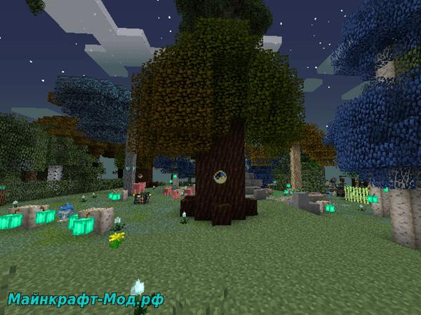 Дерево Времени Сумеречный Лес