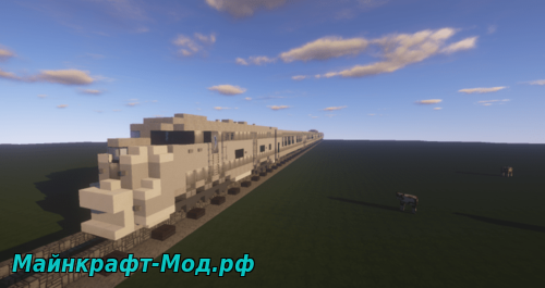Карта Amtrak Western Pacific Zephyr для Майнкрафт 1.12.2