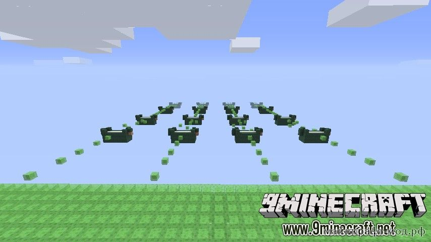 Паркур карта на Minecraft