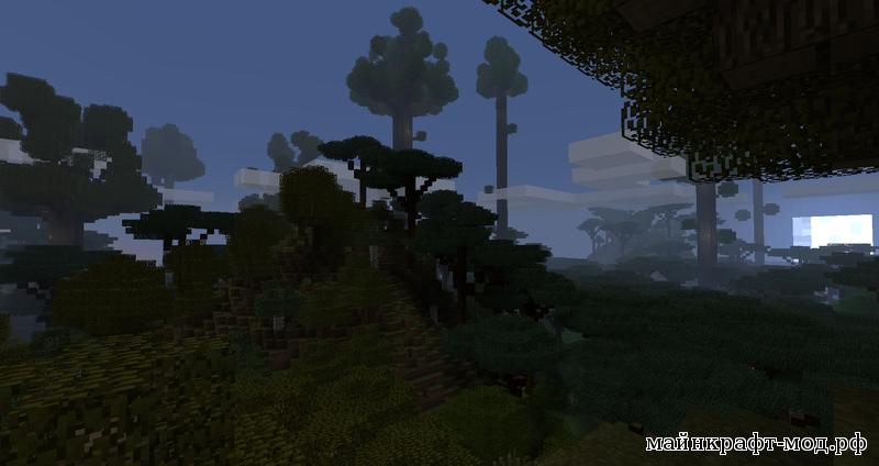 Сумеречный лес для майнкрафт