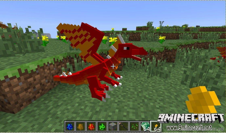 Моды для майнкрафт 1.7.4 на драконов скачать
