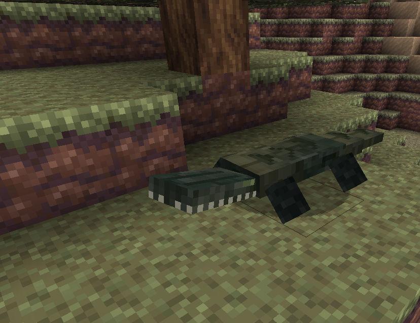 мод на рептилии minecraft