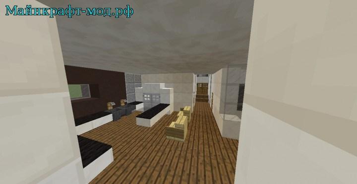 Маленький дом на майнкрафт