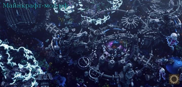 Подводный город для Майнкрафт