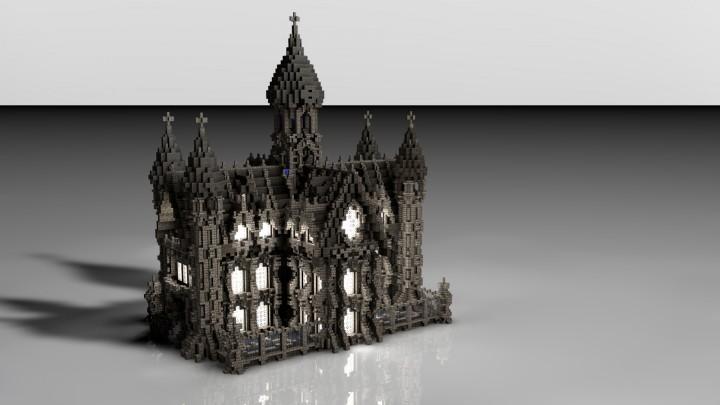 Дворец для Minecraft