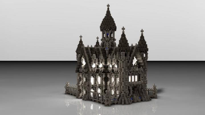 Императорский дворец на Майнкрафт