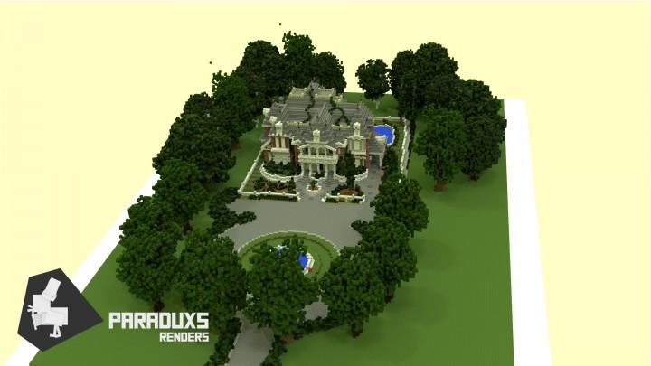 Карта Королевский дом на Майнкрафт