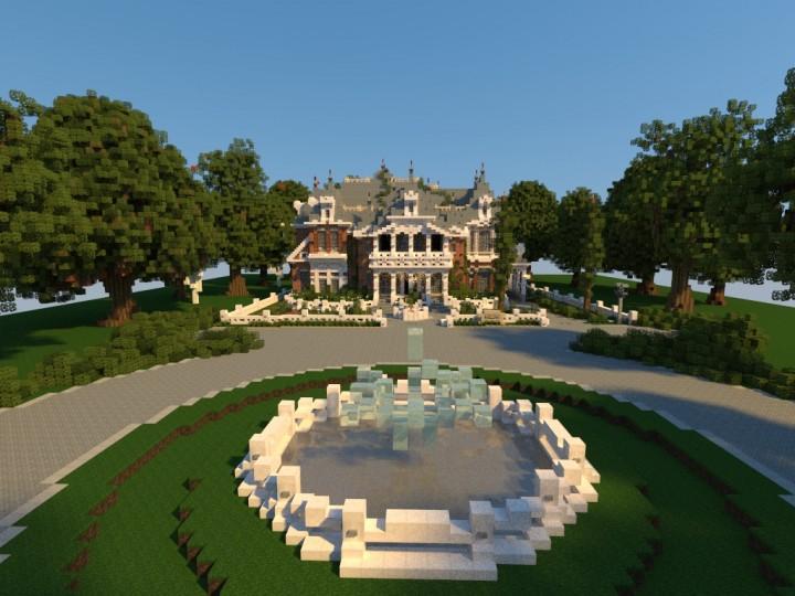Королевский дом на Майнкрафт