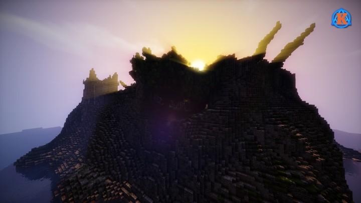 Руины для Майнкрафт Карта