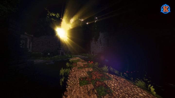 Карта с красивым миром на Minecraft