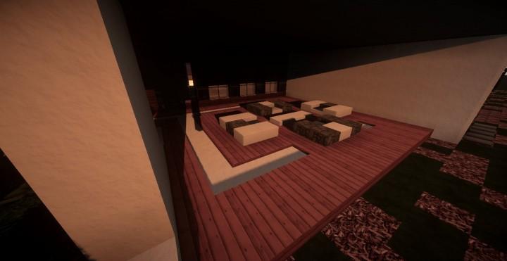 Minecraft карта закрытый дом