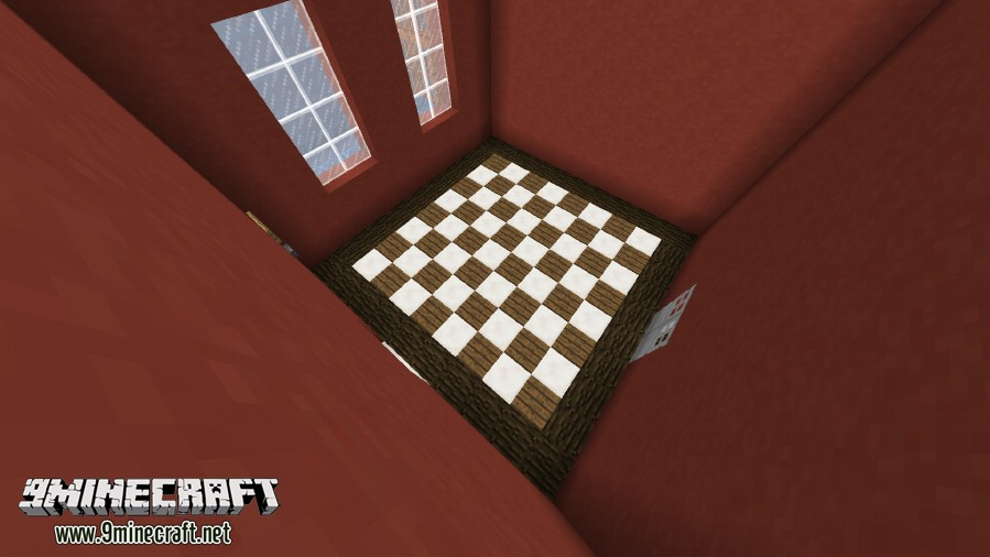 Карта головоломка для Minecraft