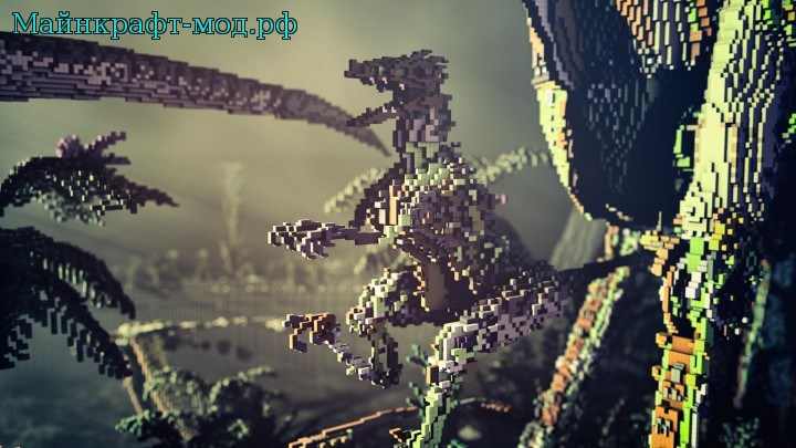Карта драконы на майнкрафт