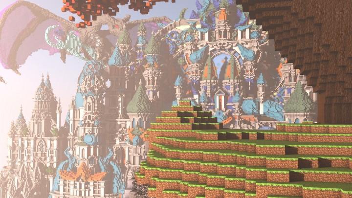 Minecraft карта темный мир