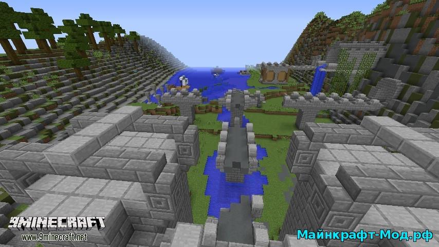 Скачать карту The Escapists для майнкрафт 1.8