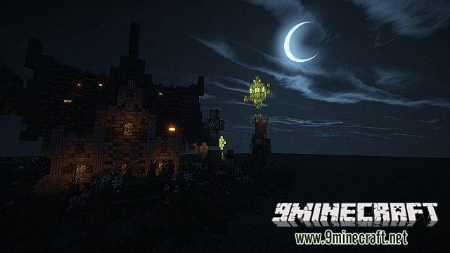Дом воина для Minecraft