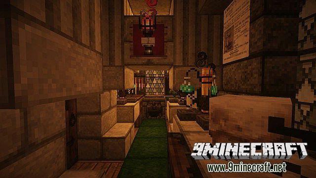 Minecraft карта красивый дом