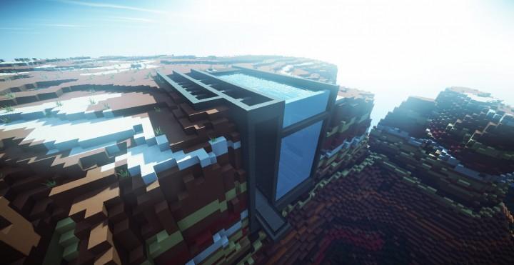 Большой дом для Майнкрафт