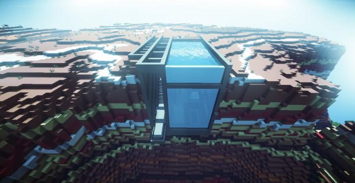 Современный дом Minecraft