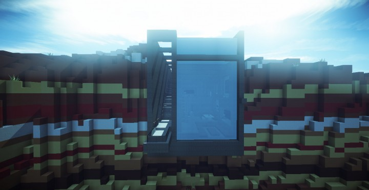 Minecraft большой дом