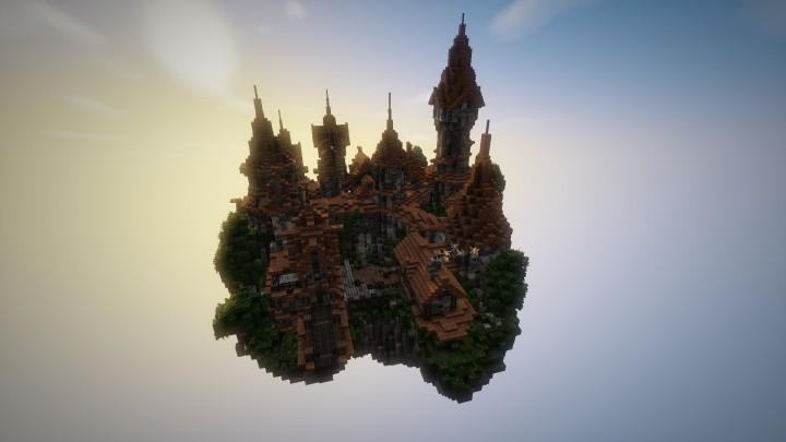 Замки на Майнкрафт