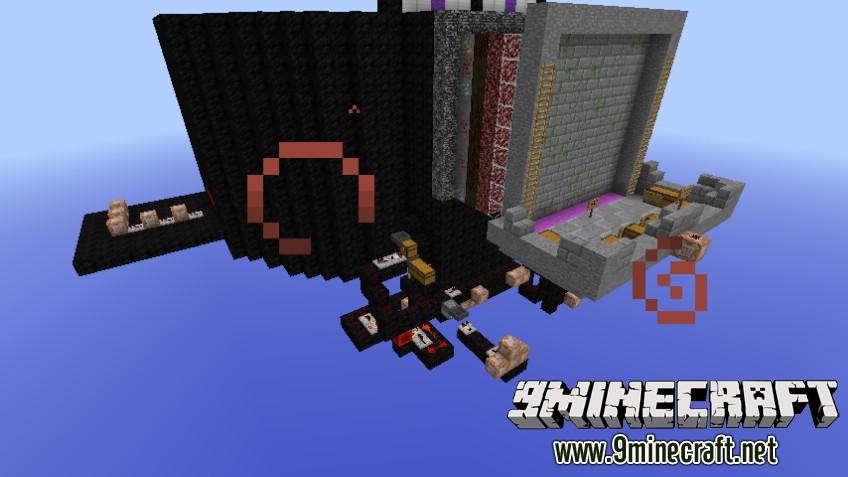 Карта Fruit Ninja для Minecraft