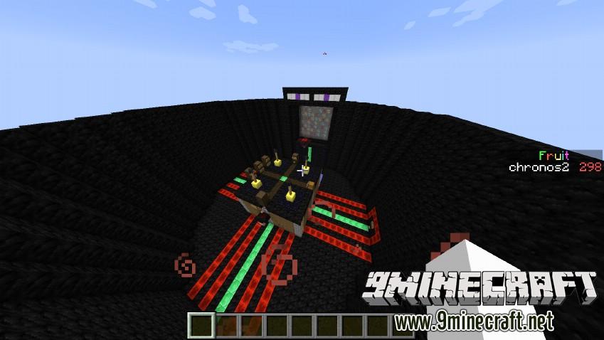 Карта мини игра для Minecraft