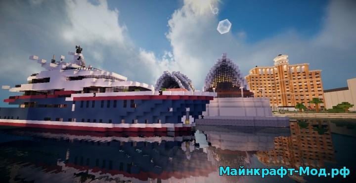 Minecraft современный город