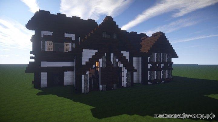 Карта дом для Майнкрафт
