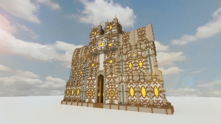 Майнкрафт замок