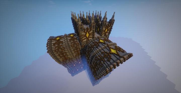 Карта на Майнкрафт замок