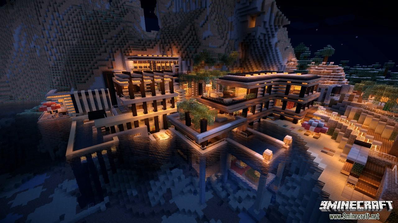 Дом богачей для Minecraft