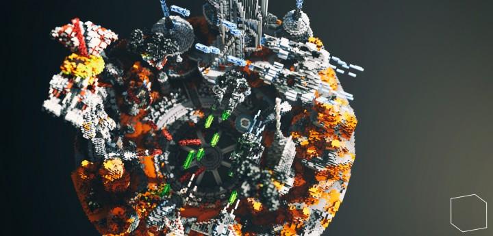 Карта звездные войны для Майнкрафт