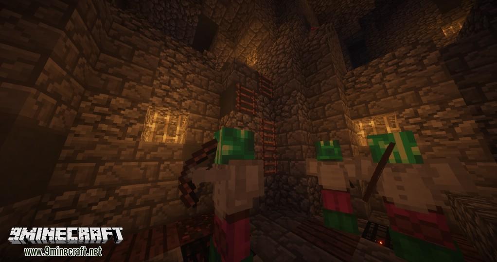Minecraft шахта карта