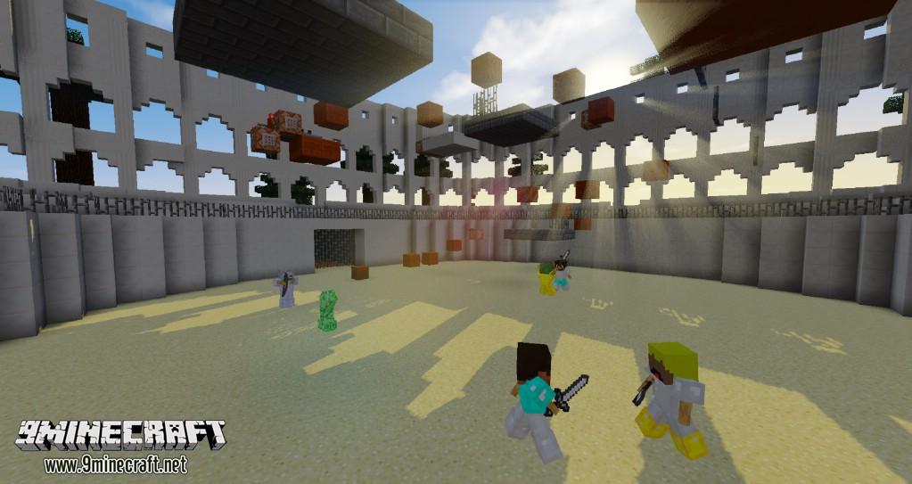 Minecraft карта паркур