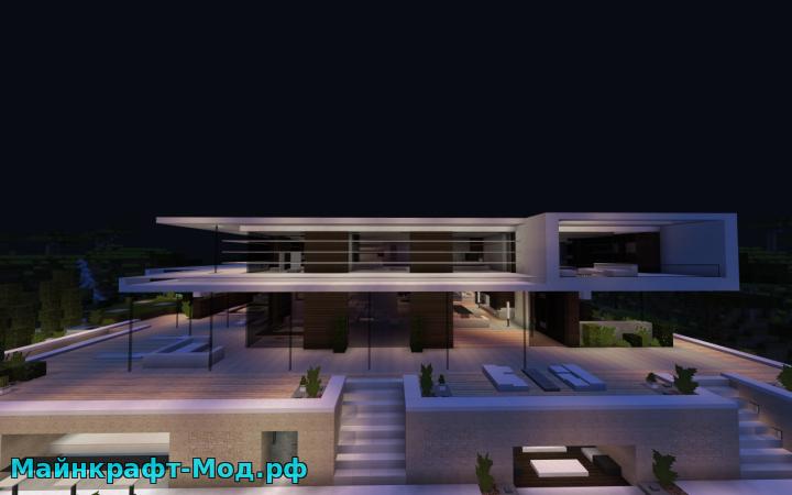 Механический дом для майнкрафт 0. 14. 0 карты для minecraft pe.