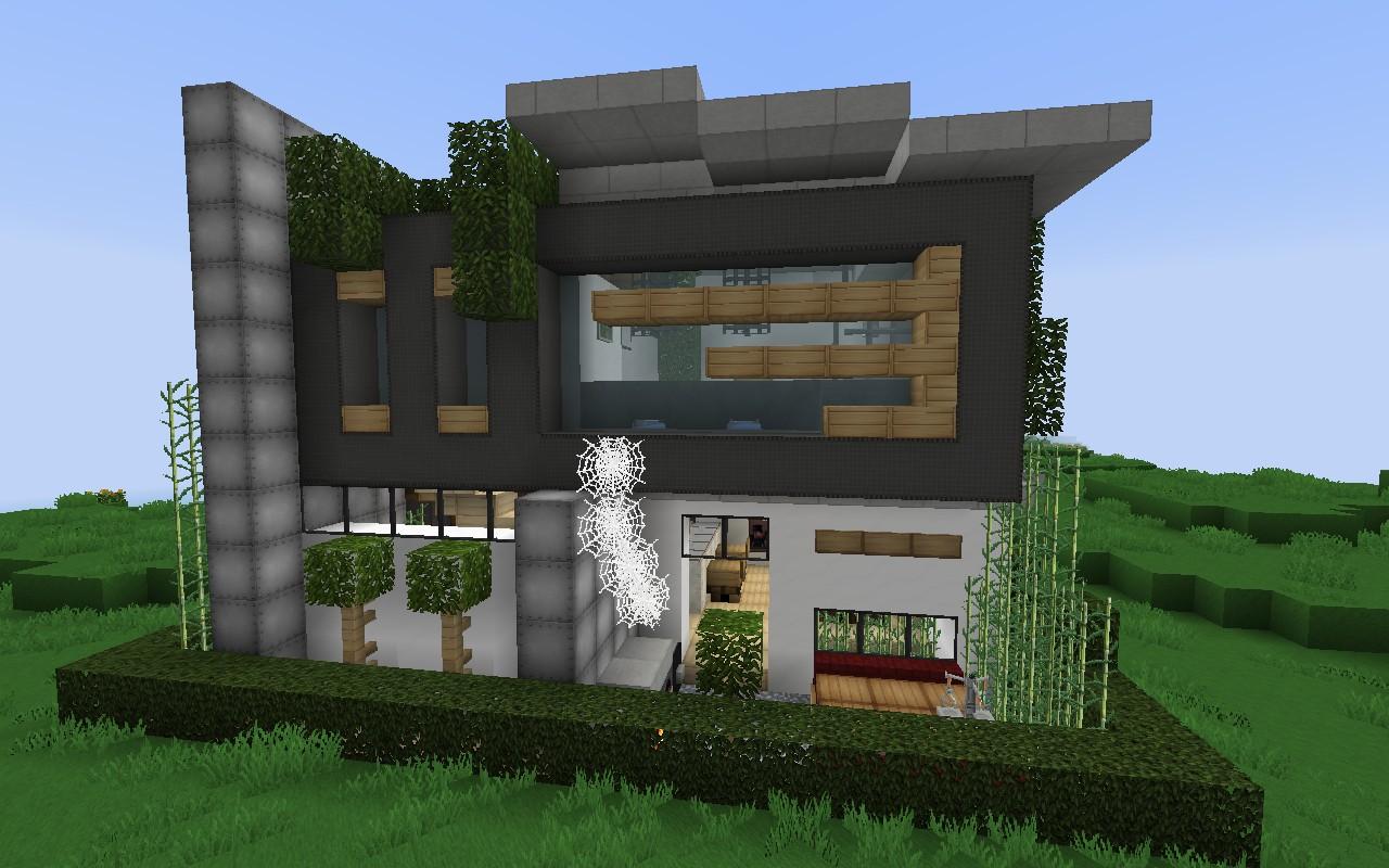 Дом с паутиной для Майнкрафт