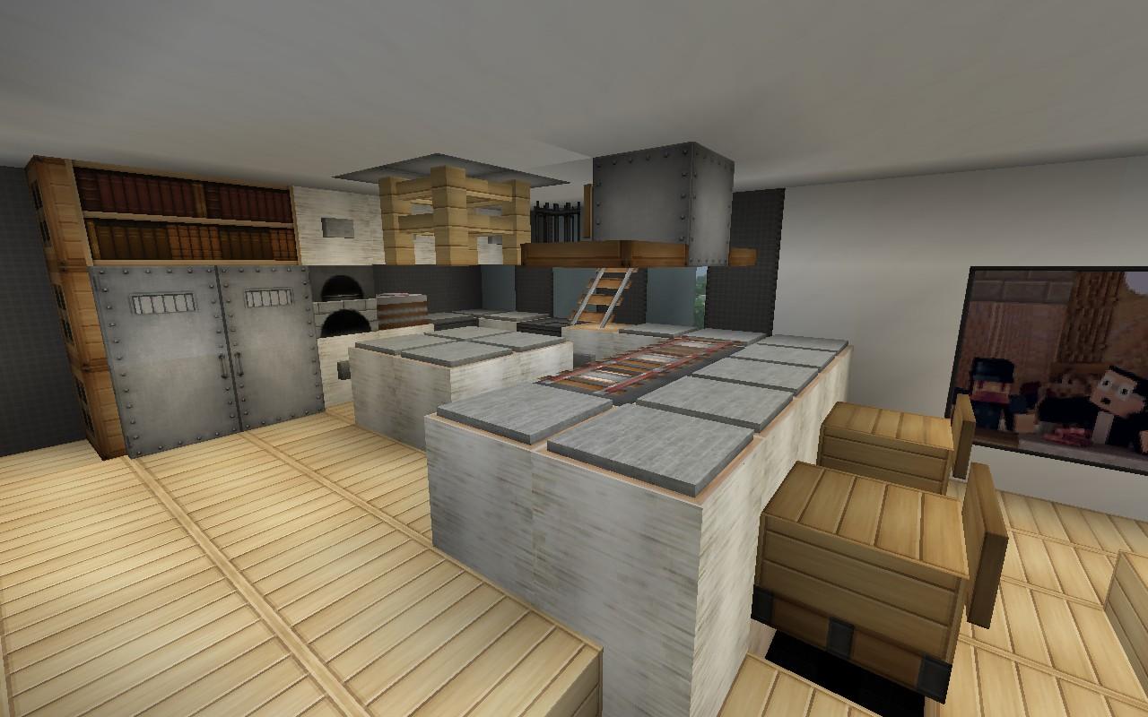 Маленький домик на Minecraft