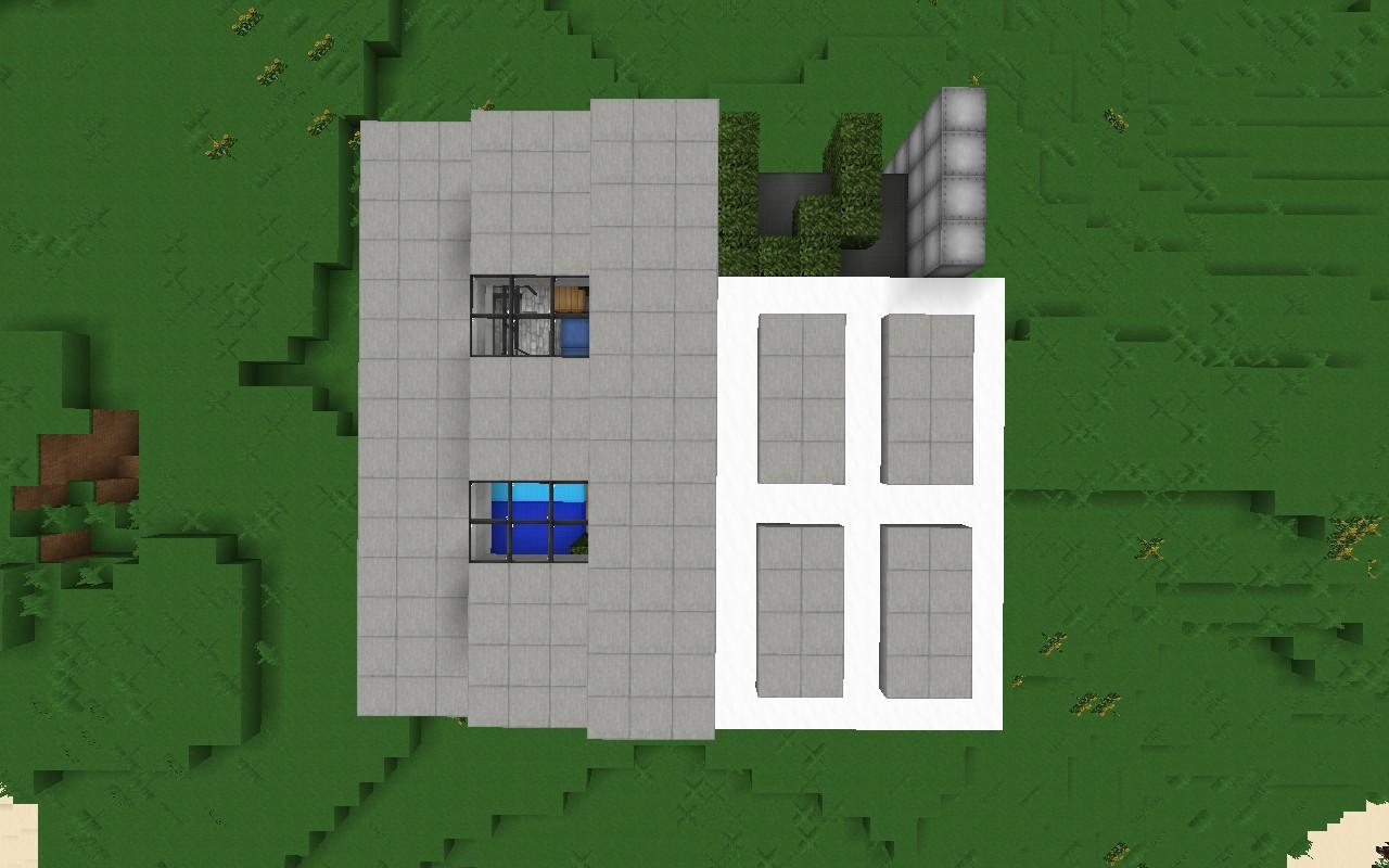 Карта дом на Minecraft