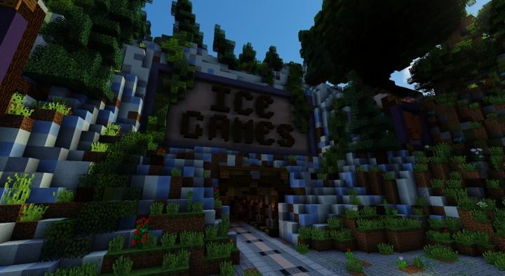 Крутой спавн для Сервера Minecraft