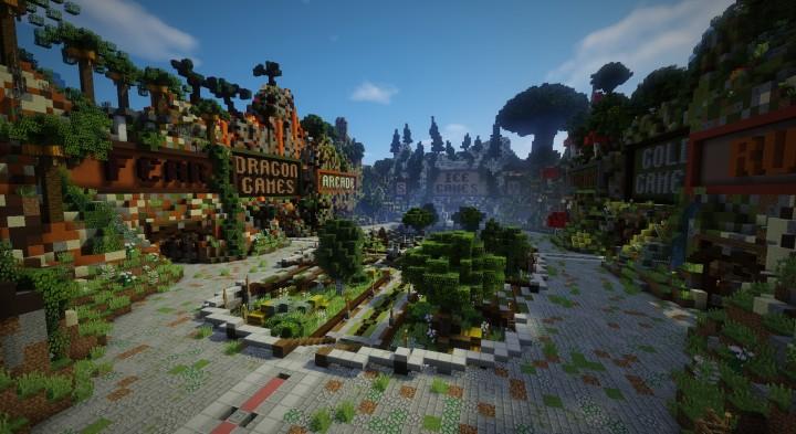 Minecraft спавн для сервера