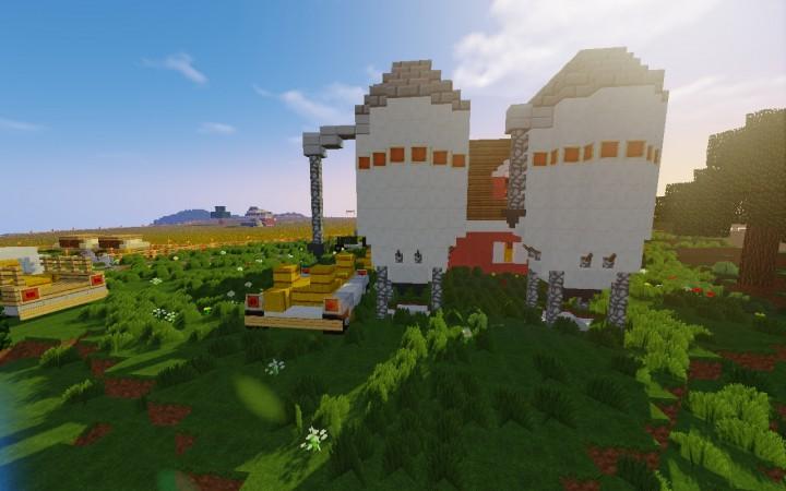 Farming Simulator карта на Майнкрафт