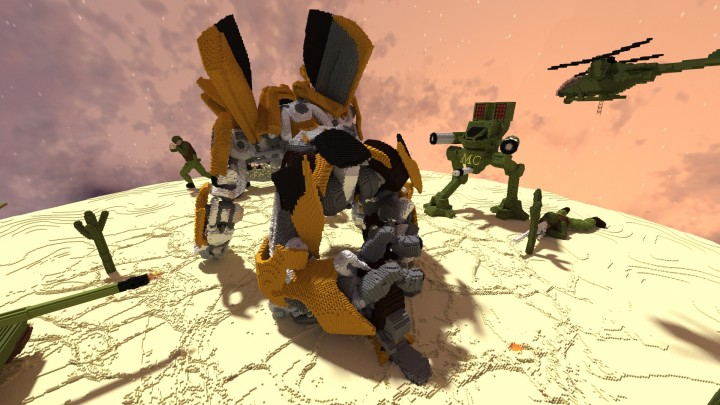 Карта Transformers для Майнкрафт