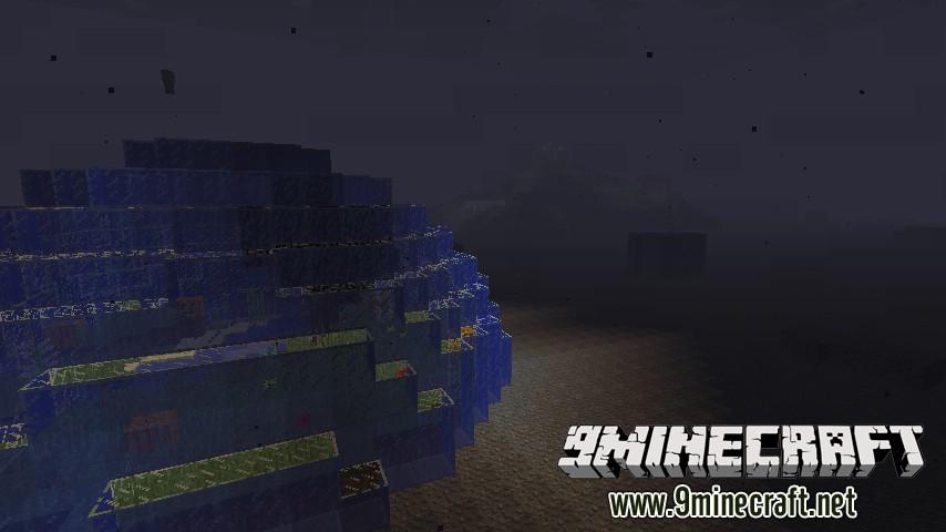 Купол под водой на Майнкрафт