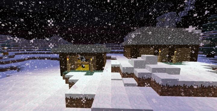 Уютный дом на Minecraft