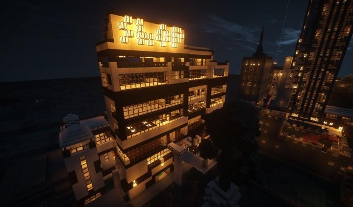 Город на Майнкрафт