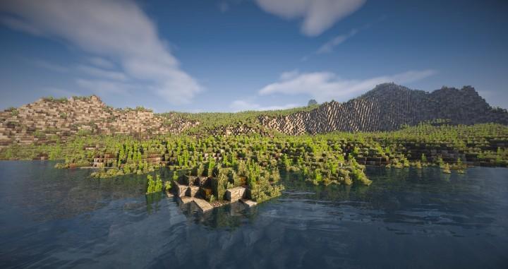 Майнкрафт карта новый мир