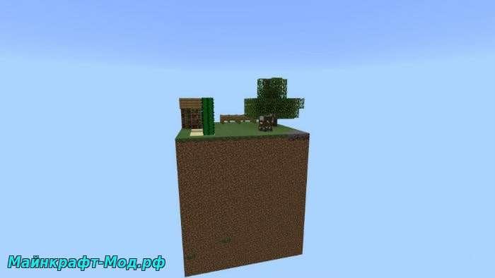 Minecraft PE Скайблок карта