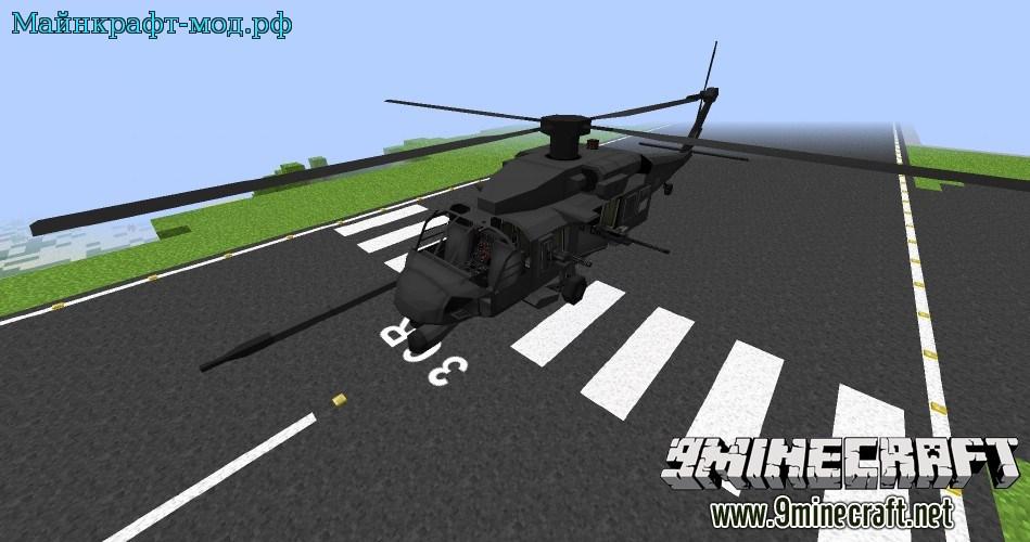 Мод на воздушную авиационную технику для Майнкрафт