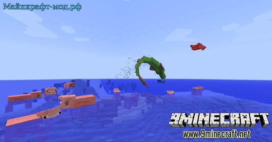 Подводный мир для майнкрафт